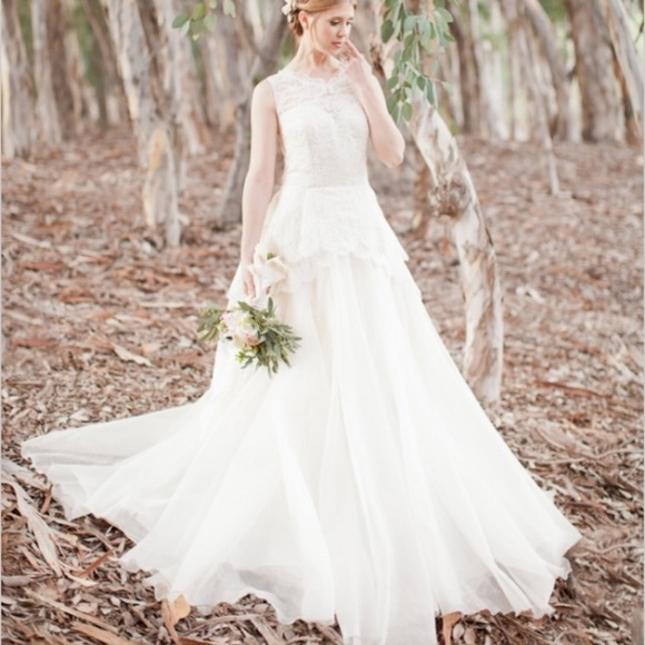 Leanne Marshall Dresses Wedding Gown Poshmark